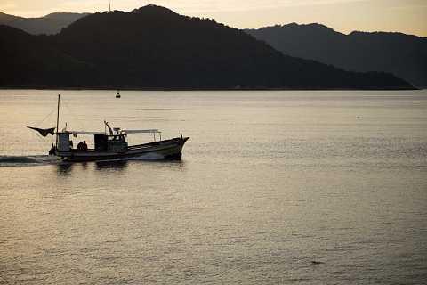 Ferry to the islands of Hiroshima by Scott Joyce