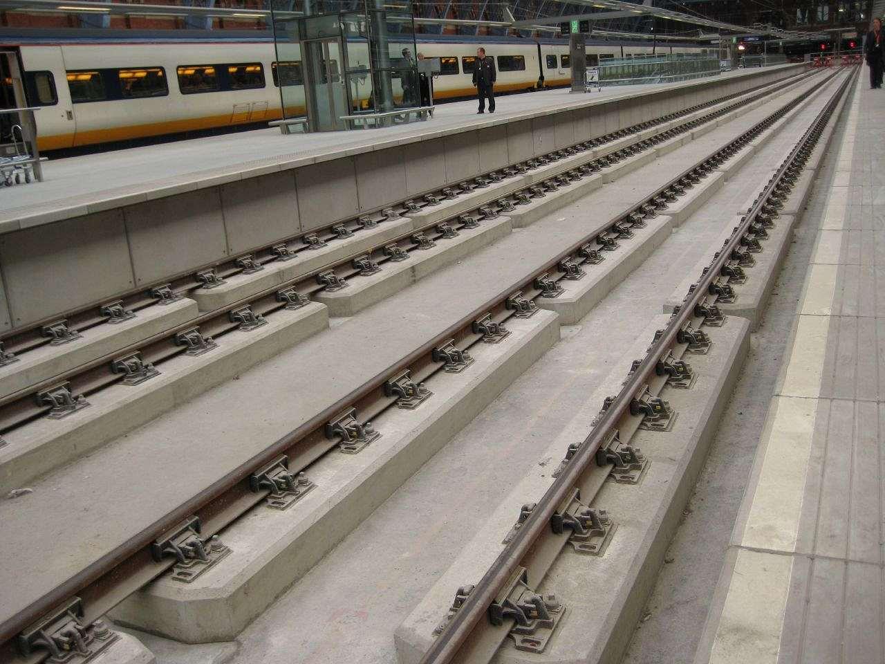 Tracks of St Pancras