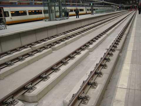 Tracks of St Pancras by Scott Joyce