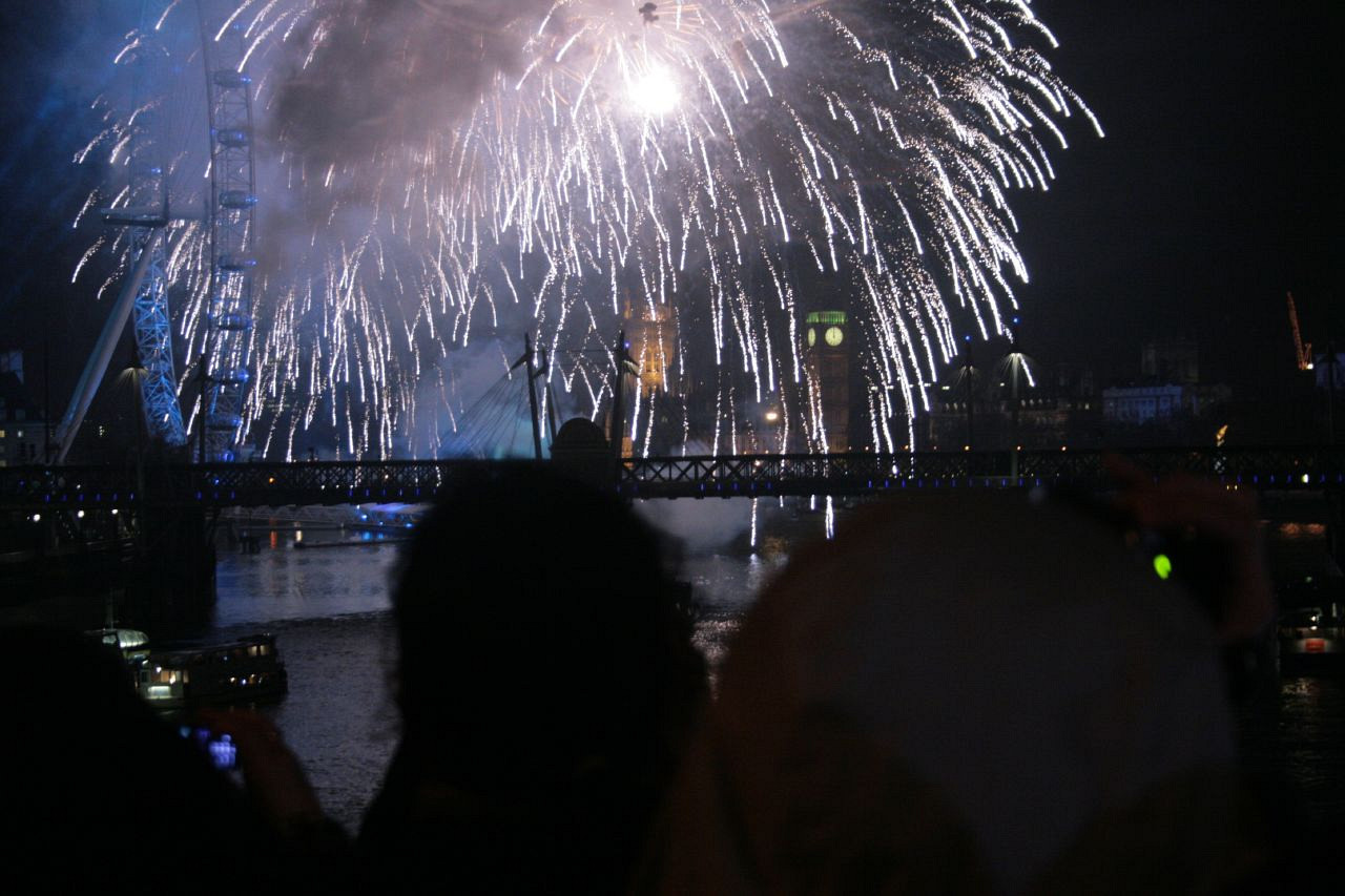 New Years Eve Thames 2007