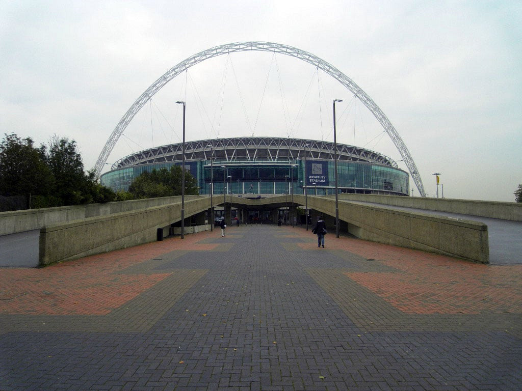 Wembley from without