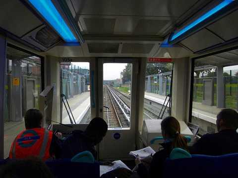 Driving the train by Scott Joyce