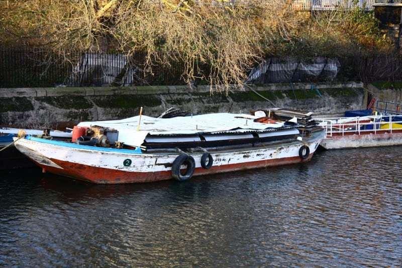 Riverside boats