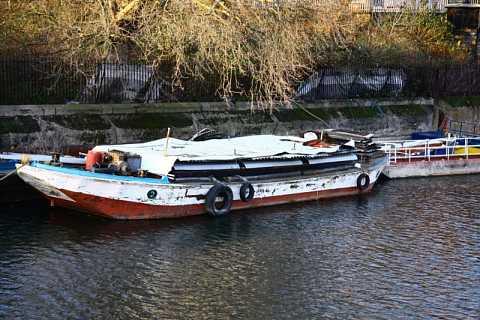 Riverside boats by Scott Joyce