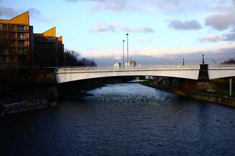 Bridge over untroubled waters by Scott Joyce