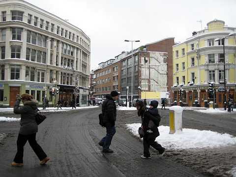 Snowy commute by Scott Joyce