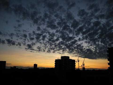 Little fluffy clouds by Scott Joyce