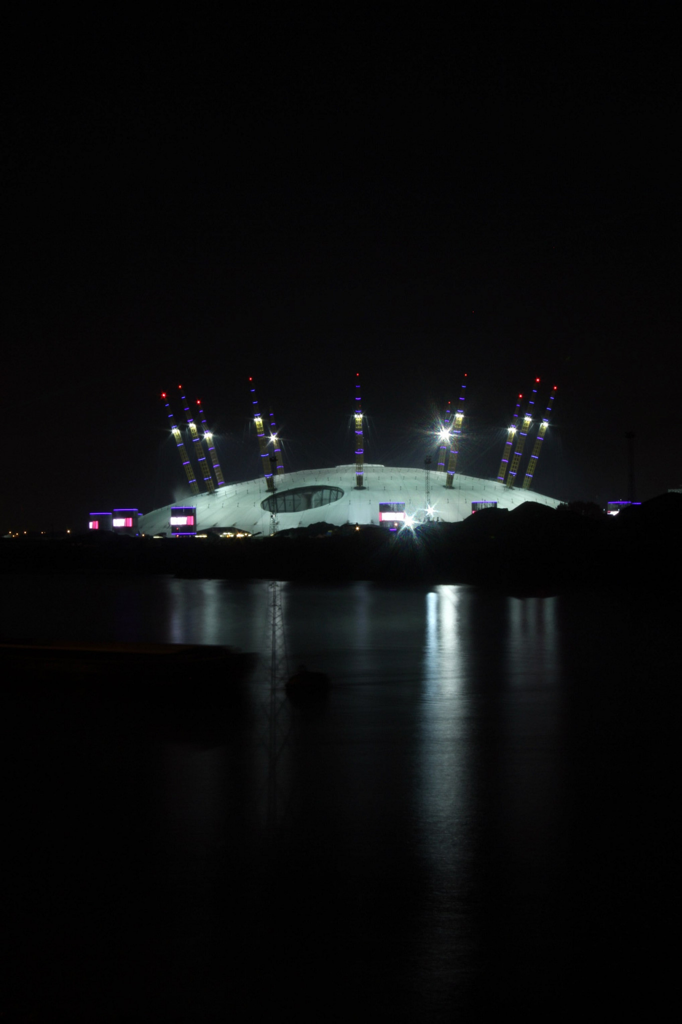 The Dome at Night