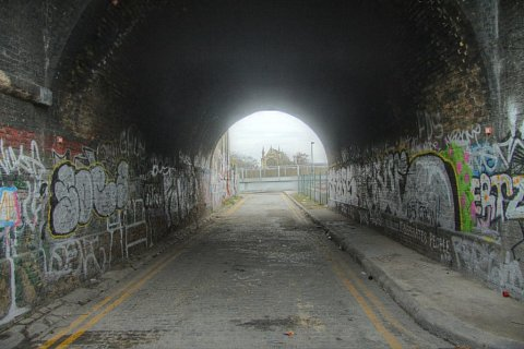 The Tunnel by Scott Joyce