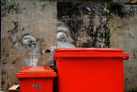 A fear of trash by Scott Joyce