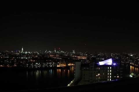 Nighttime Cityscape by Scott Joyce