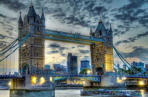 Tower Bridge at Sunset by Scott Joyce