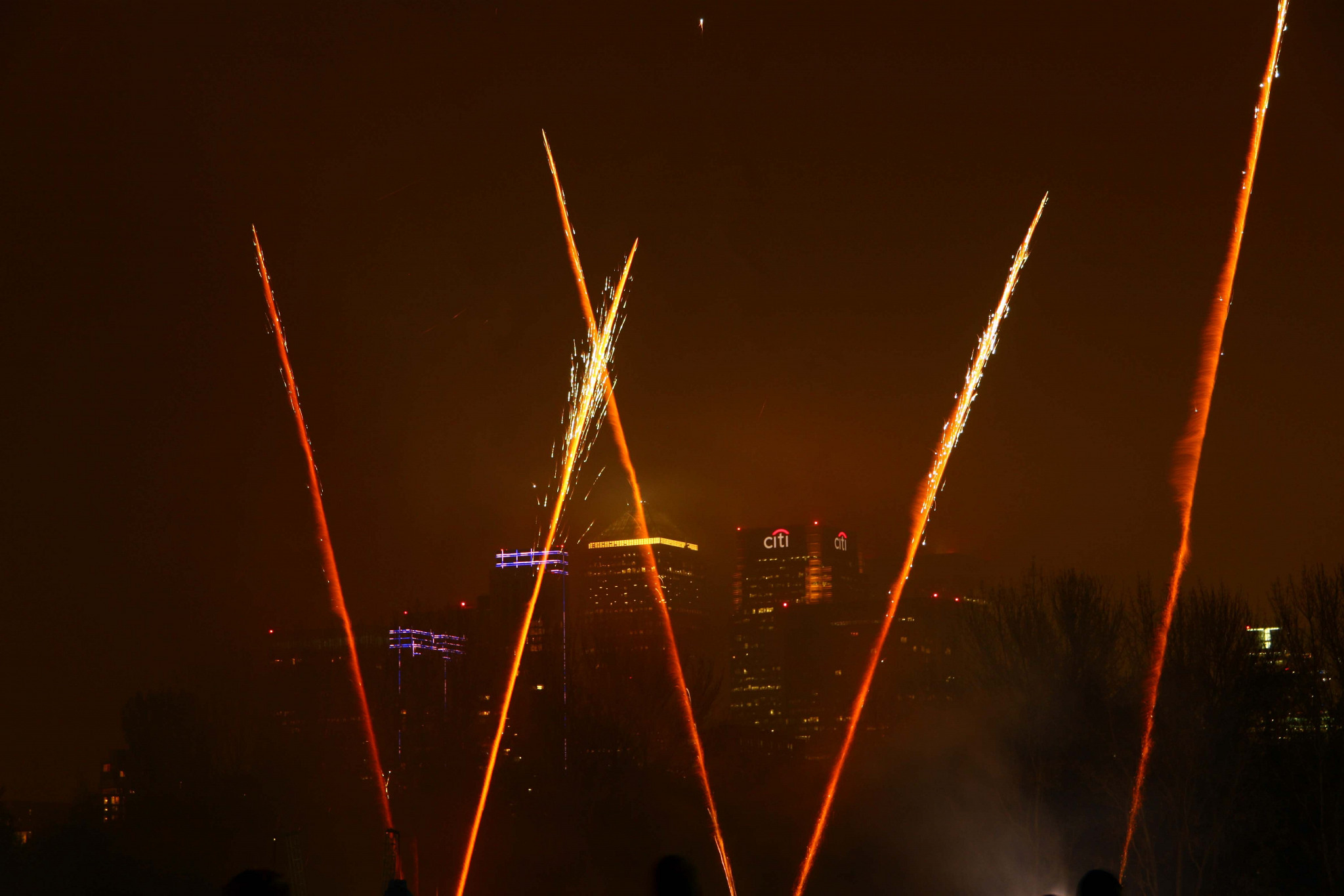Fireworks on the Island