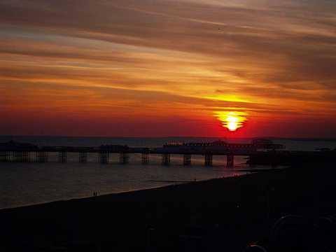 Brighton darkens by Scott Joyce