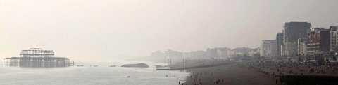 Misty brighton by Scott Joyce