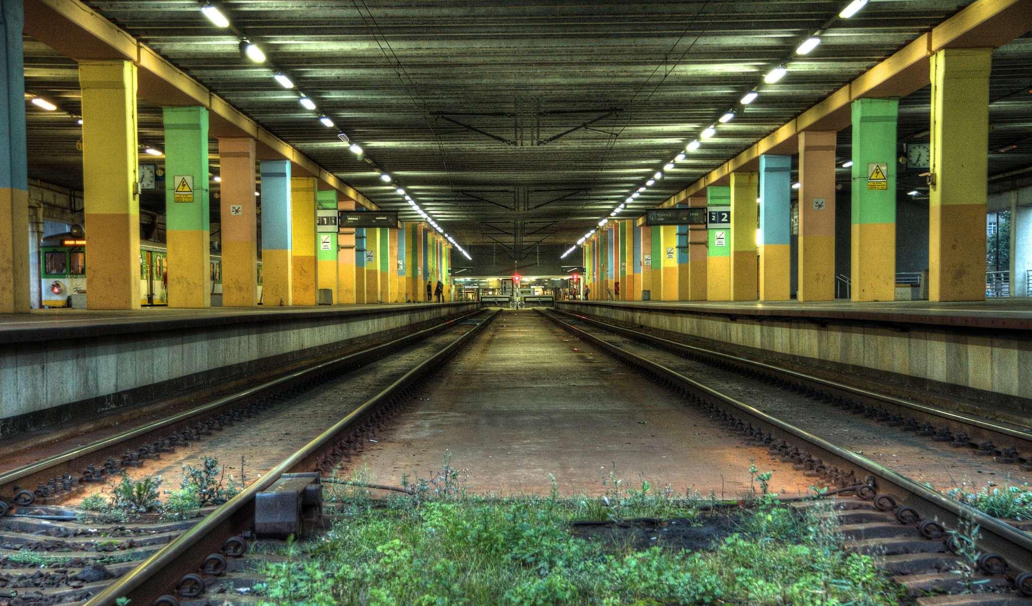 Under Warsaw station