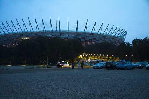Narodowy Stadium by Scott Joyce