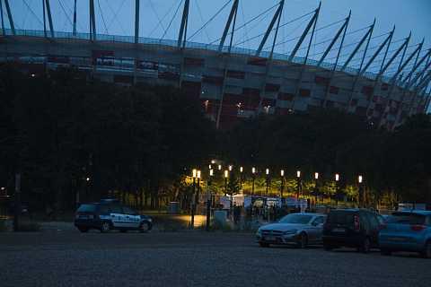 Narodowy Stadium 2 by Scott Joyce