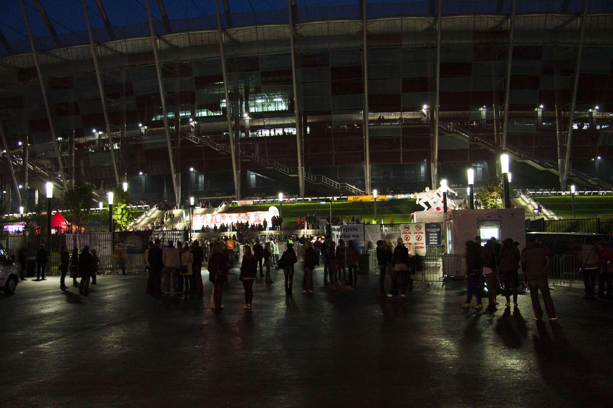 Narodowy Stadium detail