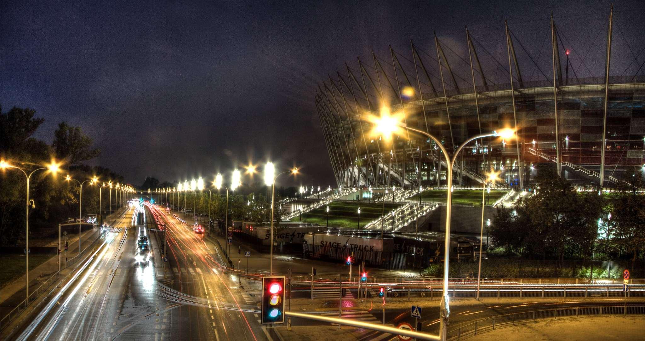 Narodowy Stadium HDR long exposure