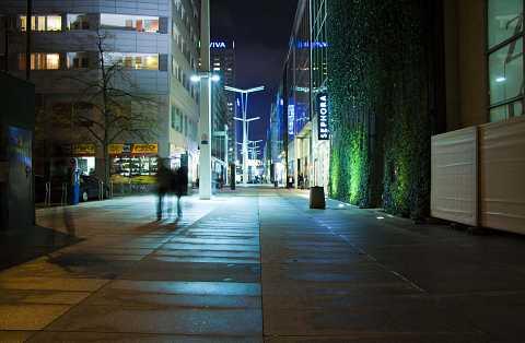 Back streets of Warsaw by Scott Joyce