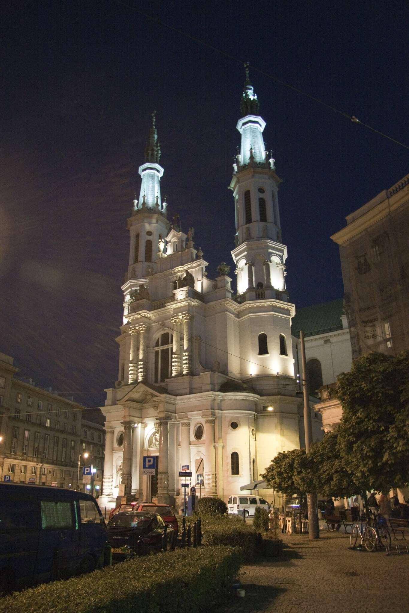 Shiny church