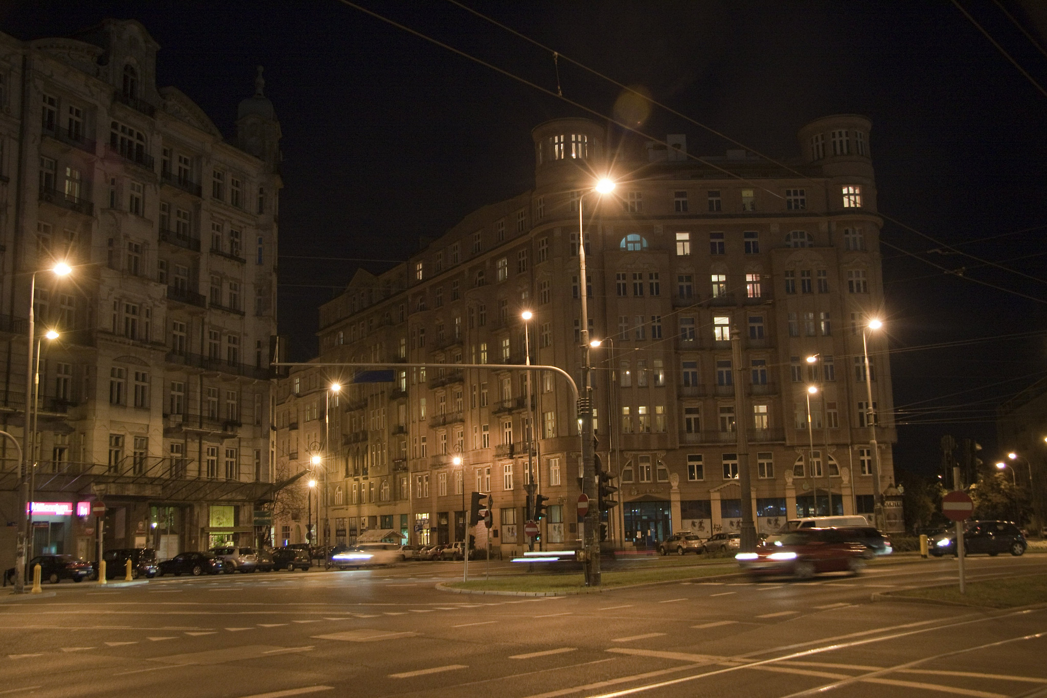 More buildings by night