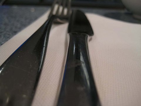 Long cutlery by Scott Joyce