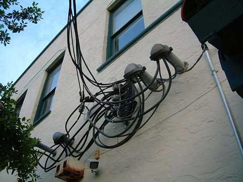 Haphazard wires by Scott Joyce