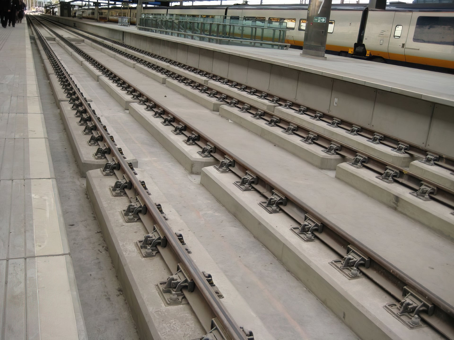 St Pancras Day tracks