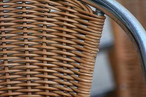 Woven chair by Scott Joyce