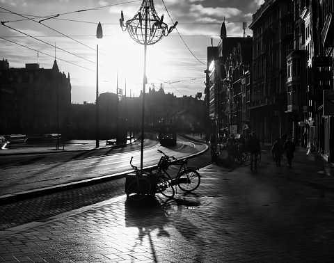 Sun flare by Scott Joyce
