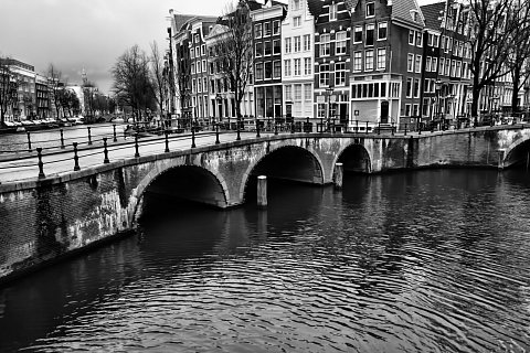 Bridge over canals by Scott Joyce