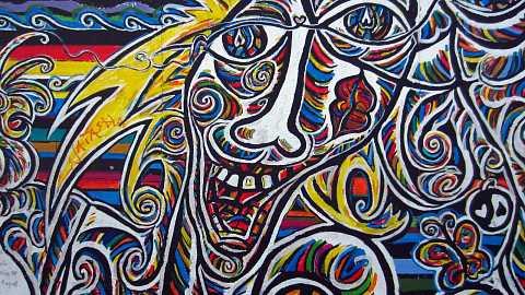 Carnival on the wall by Scott Joyce