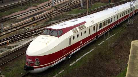 Bullet train by Scott Joyce