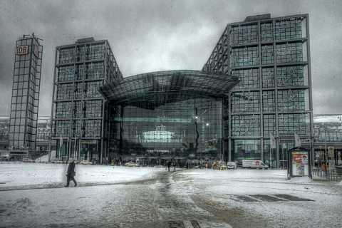 Hauptbahnhof 2 by Scott Joyce