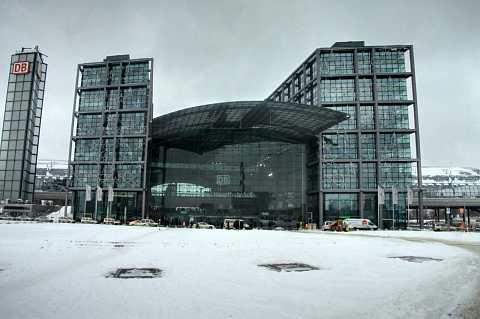 Hauptbahnhof by Scott Joyce