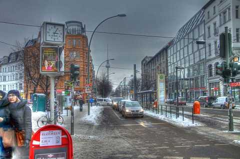 Oranienburger Straße by Scott Joyce