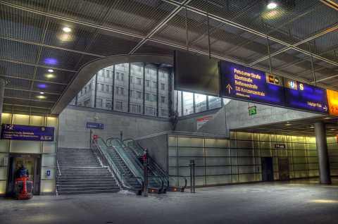 Potzdamer Platz station by Scott Joyce