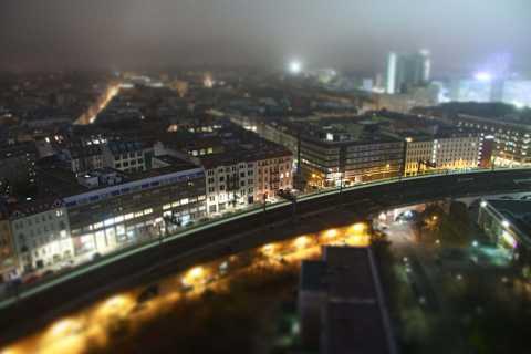 Berlin tilt shift by Scott Joyce