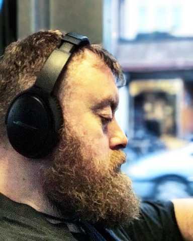 Tram #selfie #beard by Scott Joyce