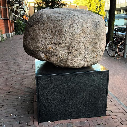 """""""It's a rock. Can't wait to tell my friends, they don't have a r by Scott Joyce"""