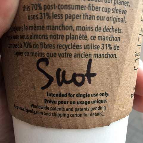 My new name by Scott Joyce