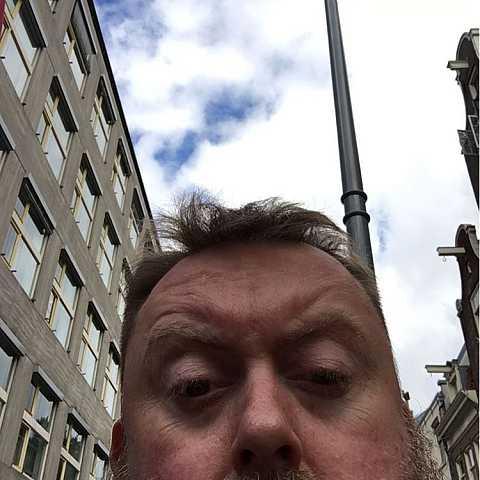 Dear weather. Pls move a blue bit above me. by Scott Joyce