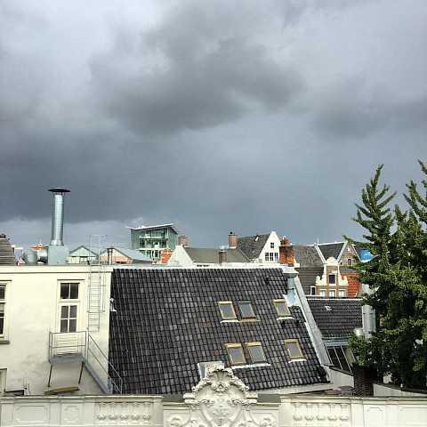 I do not wish to alarm anybody but I think it might rain... by Scott Joyce