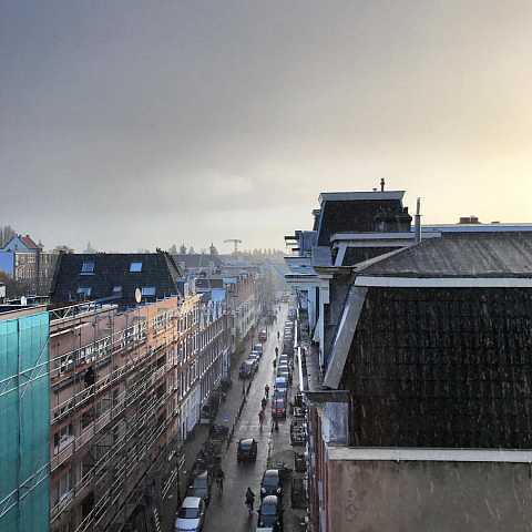 Rainy Amsterdam by Scott Joyce