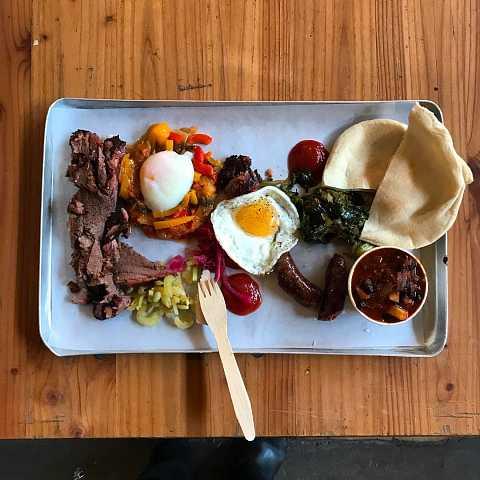 So their big breakfast got bigger... ;) by Scott Joyce