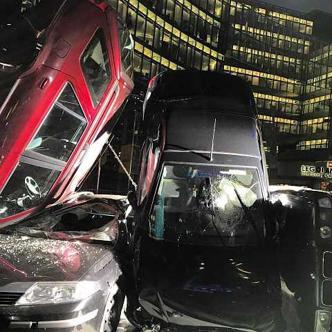 Berlin parking leaves a lot to be desired. by Scott Joyce