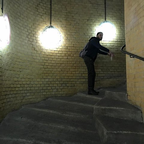 Horse stairssss by Scott Joyce