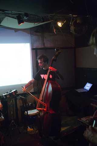 Coppé's bass player by Scott Joyce